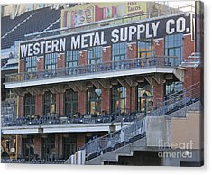 Petco Acrylic Print by Chris Selby