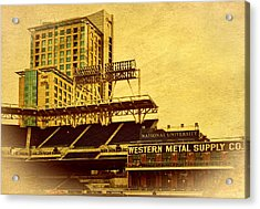 Petco Park- Western Metal Acrylic Print by See My  Photos