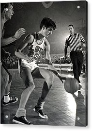 Pete Maravich Dribbling Acrylic Print by Retro Images Archive