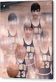 Pete Maravich Kaleidoscope Color Acrylic Print by Retro Images Archive