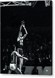 Pete Maravich Shooting From Distance Acrylic Print by Retro Images Archive