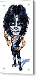 Peter Criss Acrylic Print by Art