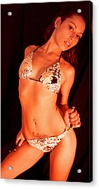 Petite Only Means Different Power 2010 Acrylic Print by James Warren