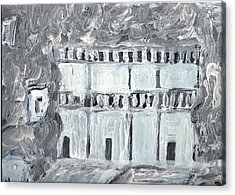 Petra Acrylic Print by Didier MAJOIE