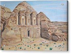 Petra Acrylic Print by Swati Singh