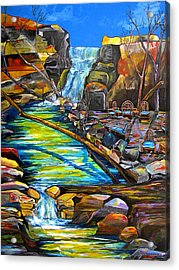 Phantom Falls Ranch Acrylic Print by Patti Schermerhorn