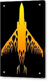 Phantom Flame Acrylic Print by Lyle Brown