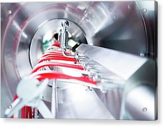 Pharmaceutical Machinery Acrylic Print by Gombert, Sigrid
