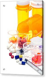 Pharmacopoeia  Acrylic Print by Olivier Le Queinec