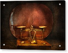Pharmacy - Balancing Act  Acrylic Print by Mike Savad