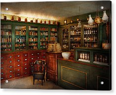 Pharmacy - Patent Medicine  Acrylic Print by Mike Savad