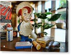 Pharmacy - Speedy Alka Seltzer - Vintage Advertising  Acrylic Print by Paul Ward
