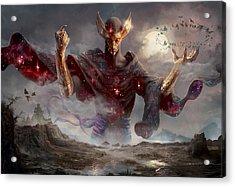 Phenax God Of Deception Acrylic Print by Ryan Barger