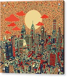 Philadelphia Dream Acrylic Print by Bekim Art