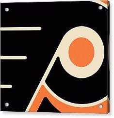 Philadelphia Flyers Acrylic Print by Tony Rubino