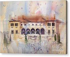 Philbrook Museum Tulsa Acrylic Print by Micheal Jones