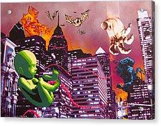 Philly Rapture Acrylic Print by Bobby Zeik