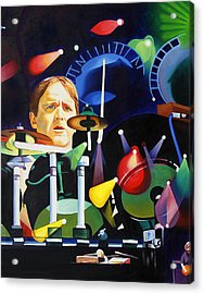 Phish Full Band Fishman Acrylic Print by Joshua Morton