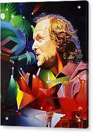 Phish Full Band Mcconnell Acrylic Print by Joshua Morton