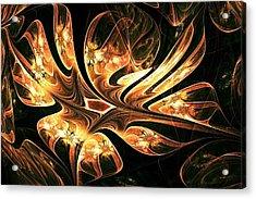 Phoenix Nest Acrylic Print by Anastasiya Malakhova