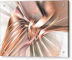 Phoenix Of The Future - Surrealism Acrylic Print by Sipo Liimatainen