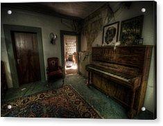 Piano Corner Acrylic Print by Nathan Wright