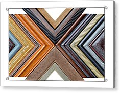 Picture Frame Art Acrylic Print by Susan Leggett