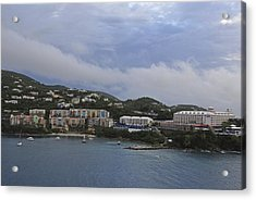 Picture Perfect Saint Thomas  Acrylic Print by Willie Harper