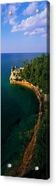 Pictured Rocks National Lake Shore Lake Acrylic Print by Panoramic Images
