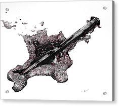 Pierced  Acrylic Print by Aaron Spong
