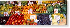 Pike Place Market Seattle Wa Usa Acrylic Print by Panoramic Images