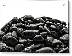 Pile Of Stones Acrylic Print by Olivier Le Queinec