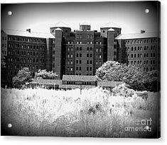 Pilgrim State Psychiatric Hospital Acrylic Print by Ed Weidman