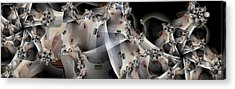 Pin Wheels Acrylic Print by Ron Bissett