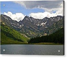 Piney Lake Vail Colorado Acrylic Print by Kristina Deane