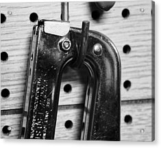 Ping Tool Acrylic Print by Anthony Cummigs