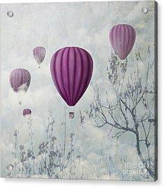 Pink Balloons Acrylic Print by Jelena Jovanovic