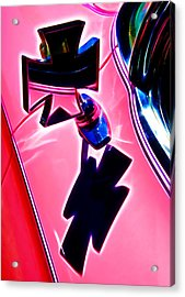 Pink Custom Mirrors Acrylic Print by Phil 'motography' Clark