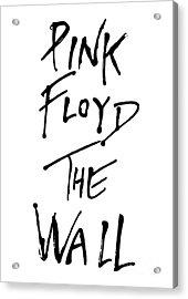 Pink Floyd No.01 Acrylic Print by Unknow