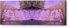 Pink Reflections Acrylic Print by Betsy C Knapp