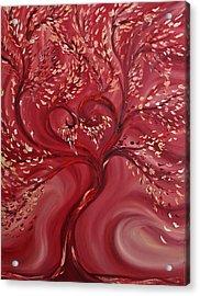 Pink Splendor Acrylic Print by Felix Concepcion