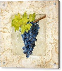Pinot Noir II Acrylic Print by Lourry Legarde