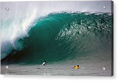 Pipeline Wave Hawaii Acrylic Print by Kevin Smith