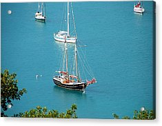 Pirate Ship Acrylic Print by Aimee L Maher Photography and Art Visit ALMGallerydotcom