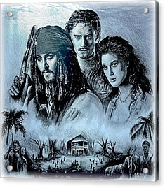 Pirates Acrylic Print by Andrew Read
