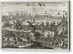 Pirates Attacking Panama Acrylic Print by British Library