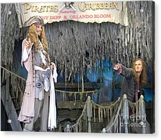 Pirates Of The Caribbean Acrylic Print by Spirit Baker