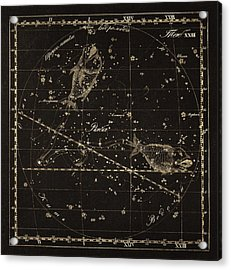 Pisces Constellation, 1829 Acrylic Print by Science Photo Library