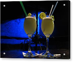 Pisco Sour In Puno Acrylic Print by RicardMN Photography