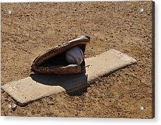 Pitchers Mound Acrylic Print by Bill Cannon